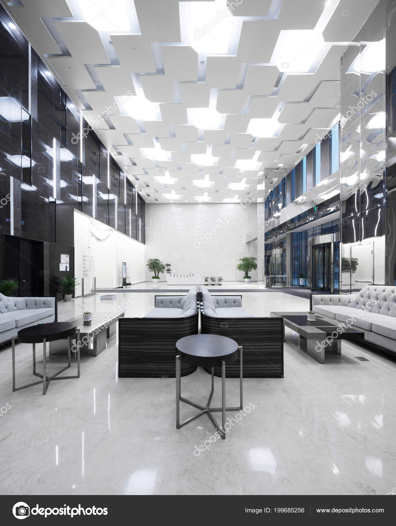 Interior Modern Office Lobby — Stock Photo © zhudifeng ...