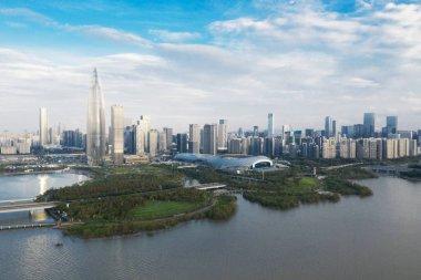 cityscape of modern city Shenzhen