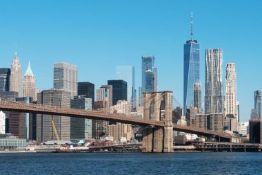 cityscape of modern city New York