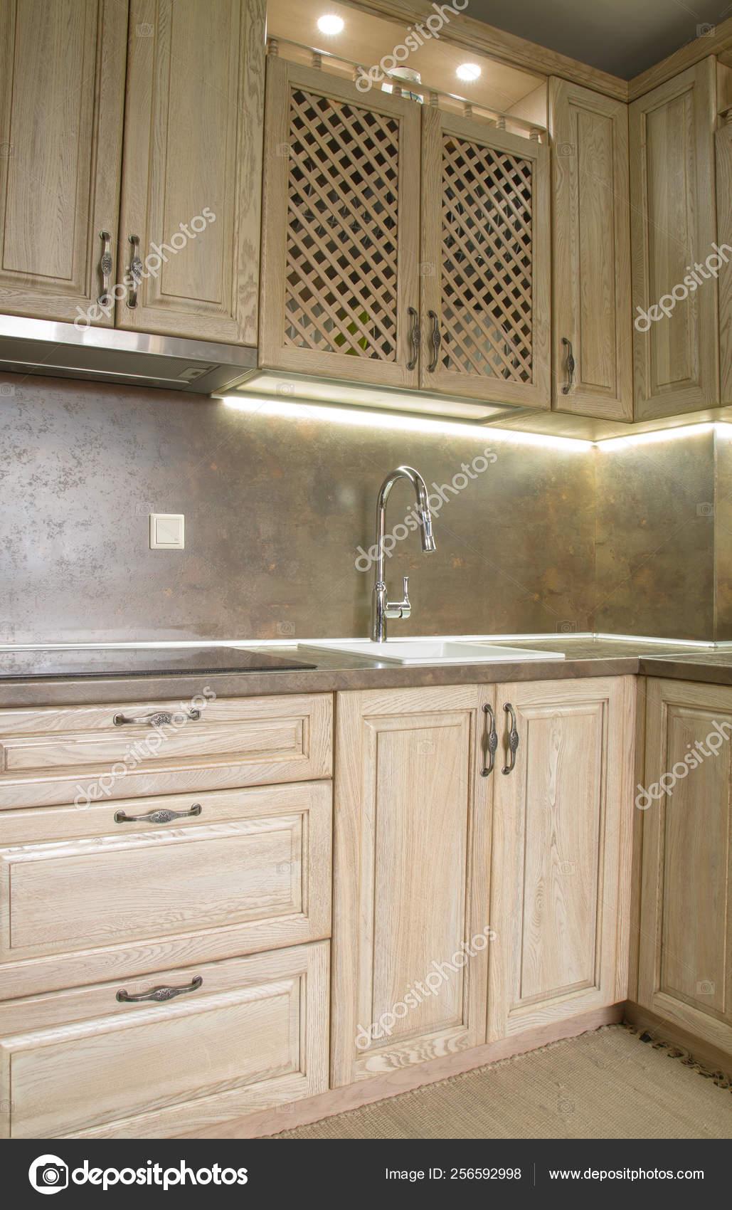Vintage Style Kitchen Furniture Stock Photo C Kocetoilief 256592998