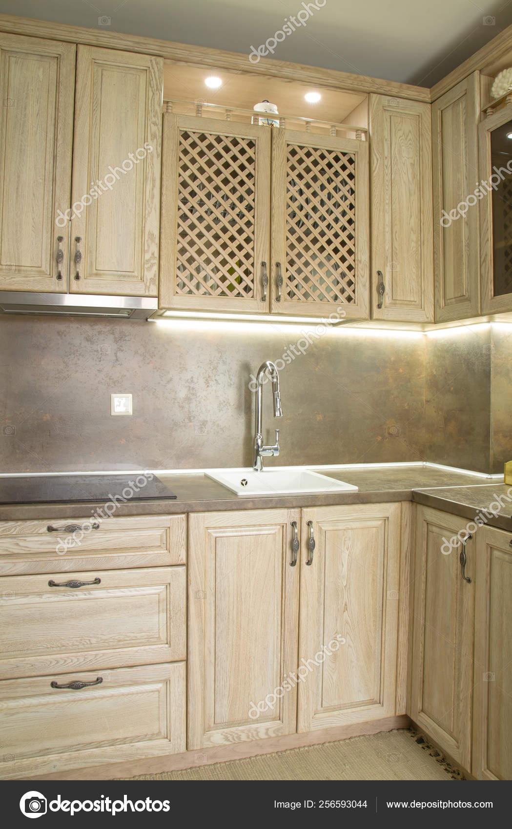 Vintage Style Kitchen Furniture Stock Photo C Kocetoilief 256593044