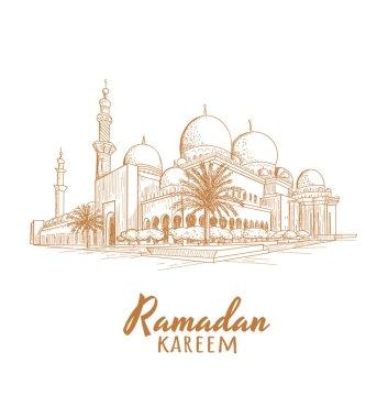 Ramadan Mosque skech