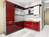 moderní domácí kuchyně
