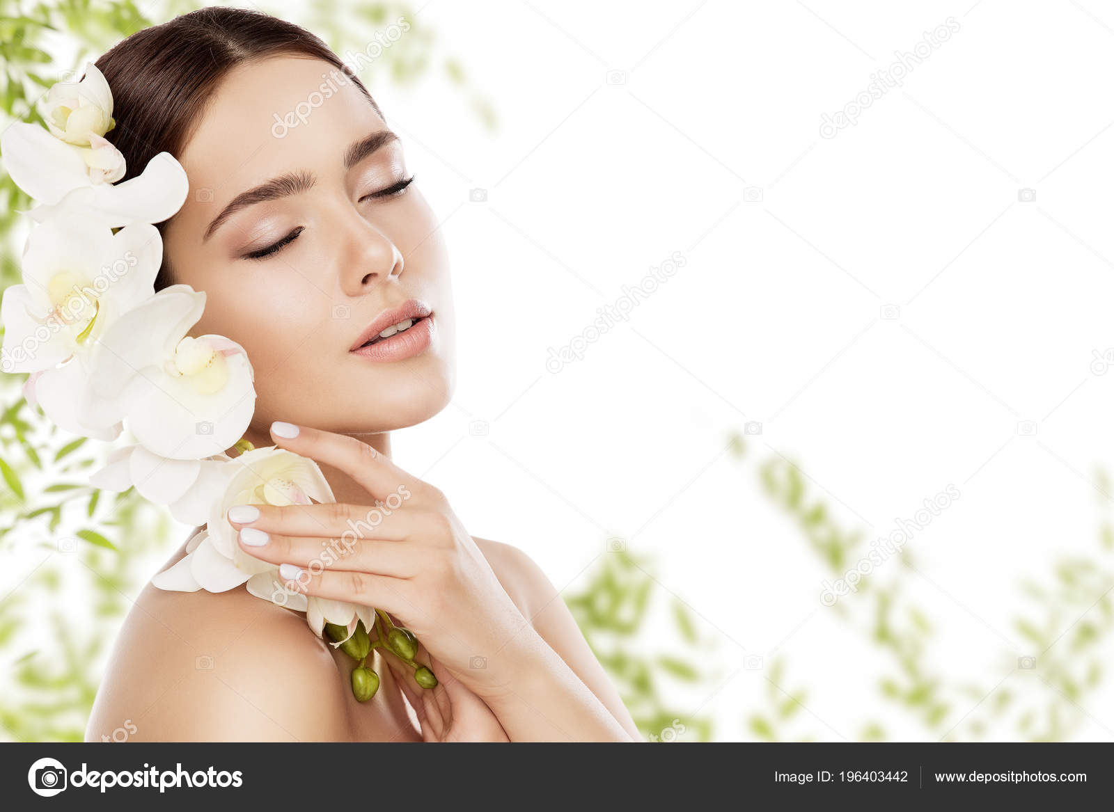 Beauty Skin Care Face Makeup Woman Skincare Natural Make Beautiful