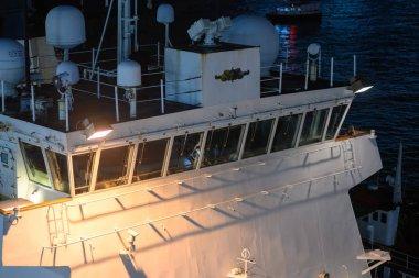 USCGC Bertholf visiting Hong Kong