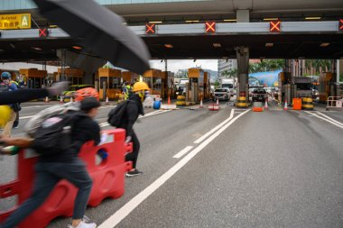 Hong Kong August 3 protest which is rejected by police force.