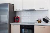 Modern konyha lakberendezés a házban