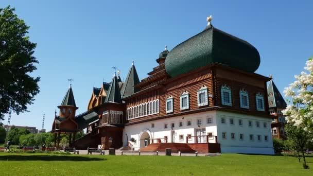 Moskva, Rusko - 22. května. 2018. palác cara Alexej Michajlovič v muzeu Kolomenskoye