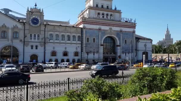 Moscow, Russia - May 22. 2018. Kazan Station on Komsomolskaya Square