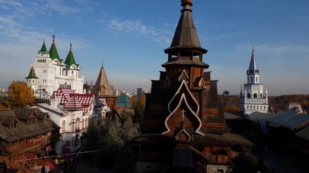 Moskva, Rusko - 14 října. 2018. kostel svatého Mikuláše v Izmailovo Kremlu
