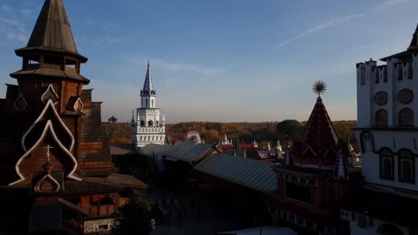 Moskau, Russland - 14. Oktober. 2018. Kirche St. Nikolaus in Ismailowo
