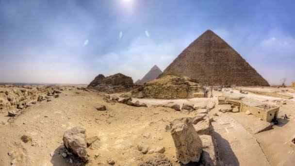 Pyramids of Giza in Egypt (One Of 7 Wonder Of The World)