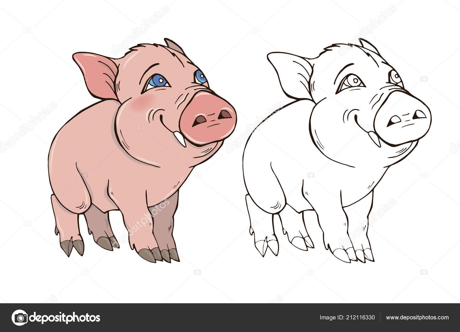 Coloring Page For Pig Pig coloring pages Free Coloring PagesPig ...