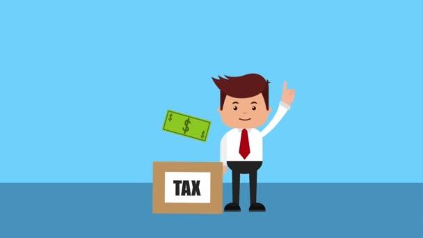 platba daně související