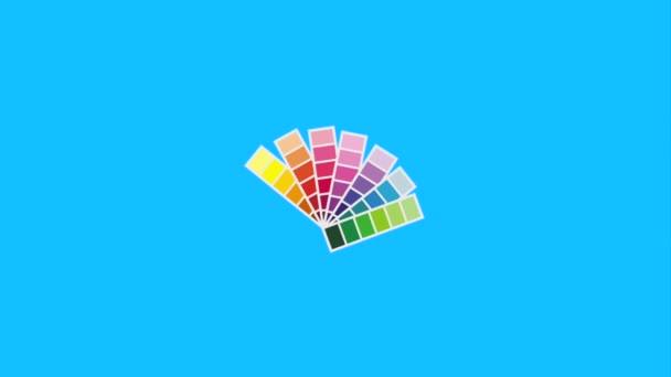 Grafik-Design-Farben-palette