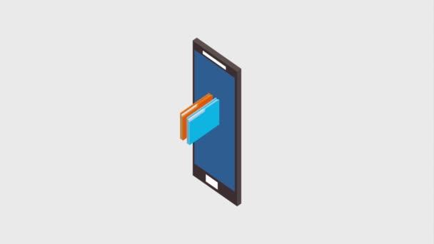 smartphone folders files document storage
