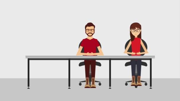 customer service animation hd