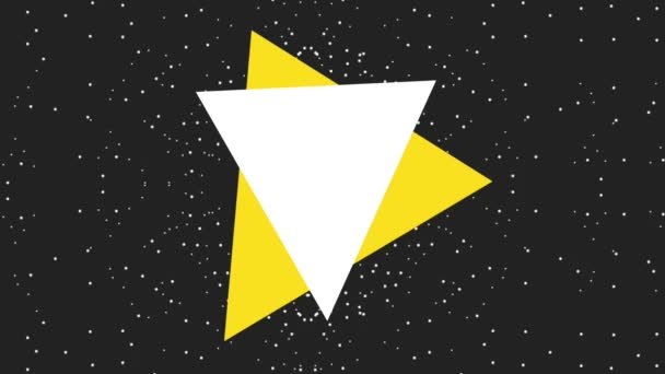 black friday sticker on starry background black friday animation hd