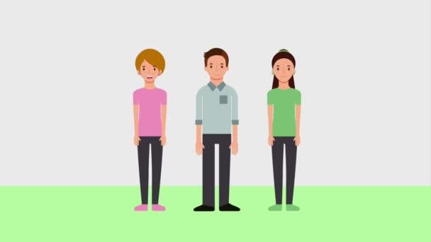 takım çalışma grubu insanlar karakterler