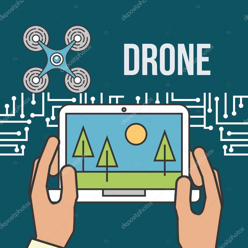 drone technology futuristic