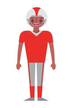sport man player american football