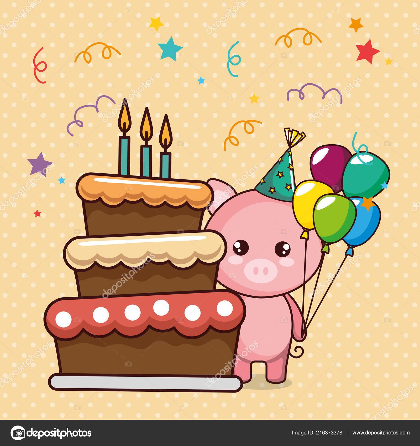 Поздравление с днем рождения поросенок