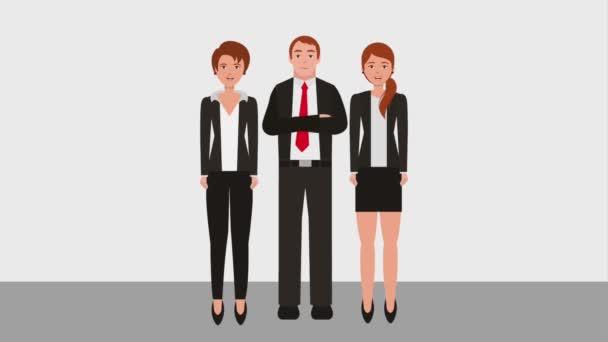 teamwork people animation hd