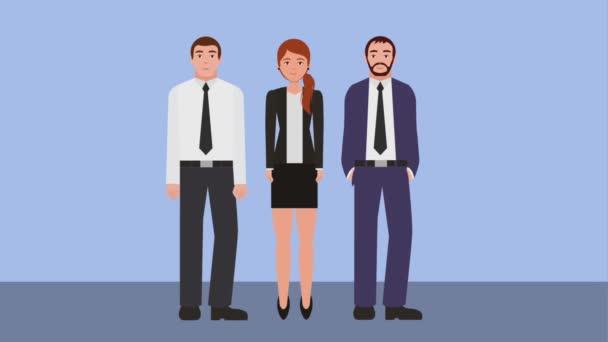 Teamwork Menschen Animation hd