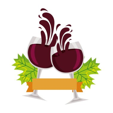 wine glasses toast splashing