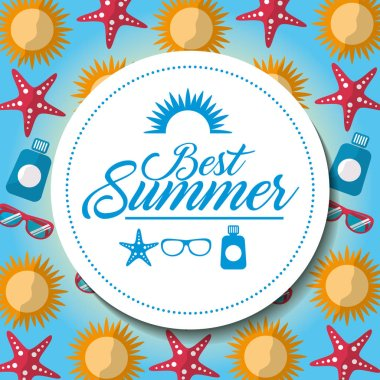 best summer poster vacations travel tourism