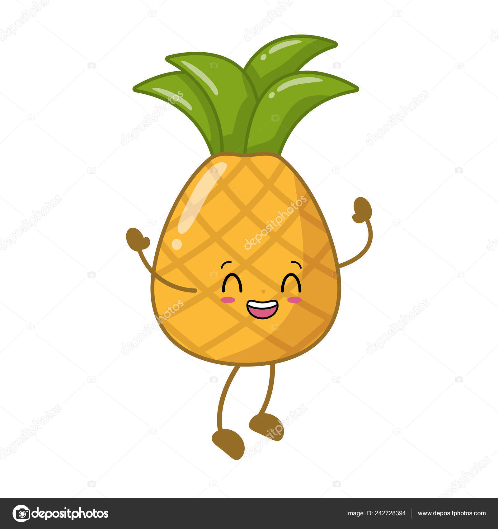 Pictures Kawaii Pineapple Kawaii Pineapple Cartoon