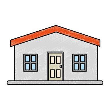 house facade front icon