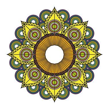 Beautiful mandala design