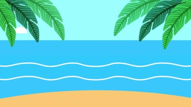 nyári idő tengeri jelenet