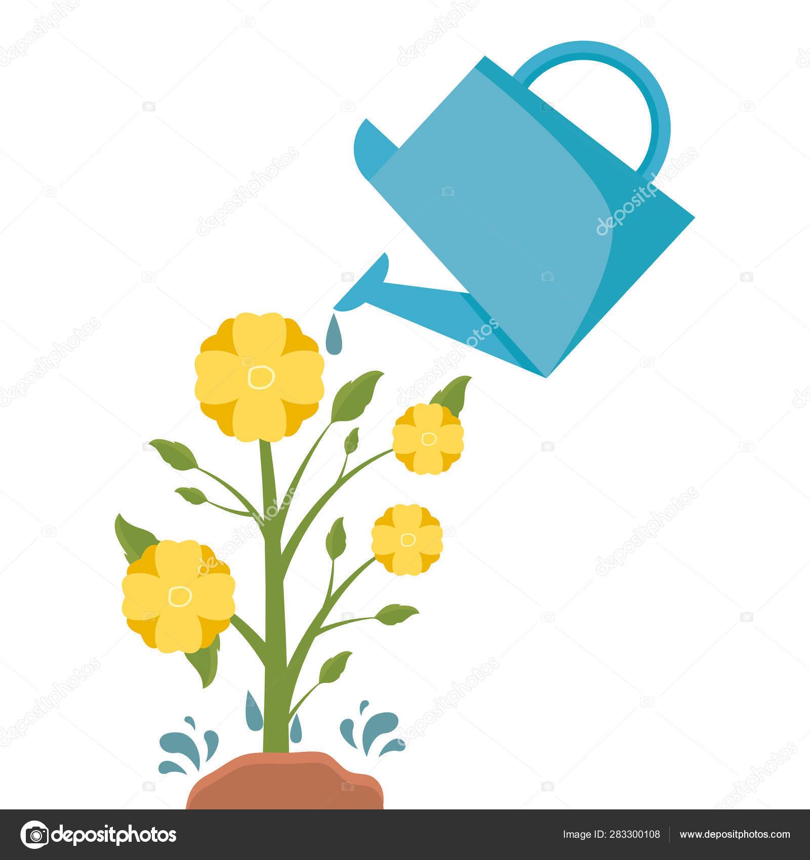 Tools Decoration Gardening Flat Design Vector Image By C Yupiramos Vector Stock 283300108