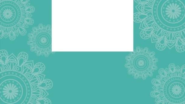 styl etnického Mandal bohémské