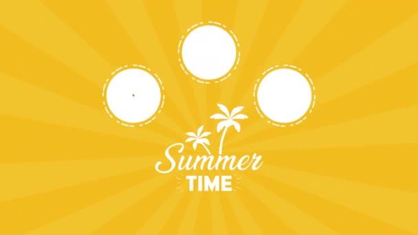 letní čas se těší dovolené