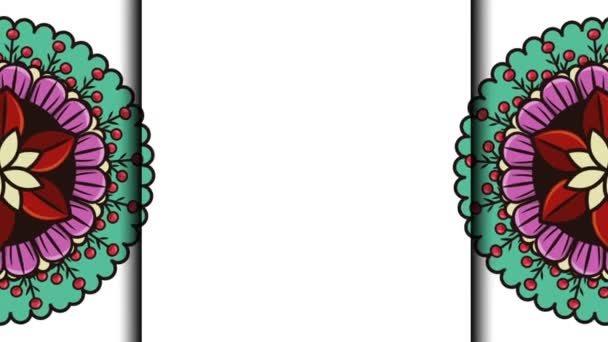 model etnického Mandal s bohémské stylem