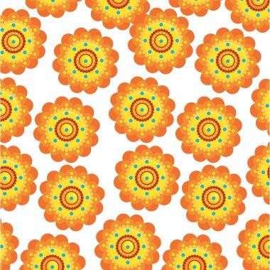 decorative set of mandalas ethnic boho style pattern