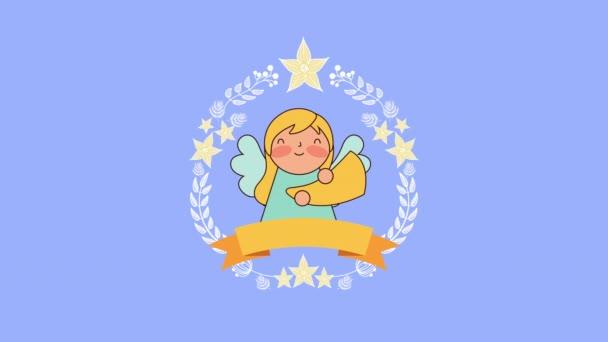 aranyos kis angyal Manger karakter