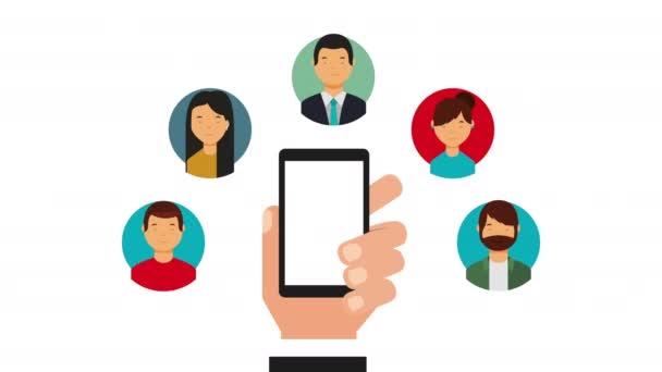 társadalmi média technológia-val odaad használ smartphone és Közösség