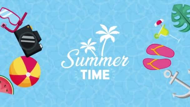 nyári idő élvezze vakáció