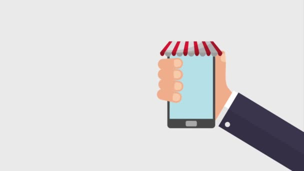 online vásárlás animáció HD