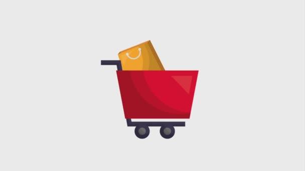 on-line nakupování animační vozík a tašky