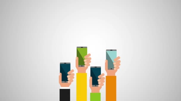 Big-Data-Technologie mit Smartphone