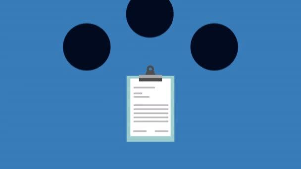 Kontrolní seznam animace dokumentu lékařského příkazu