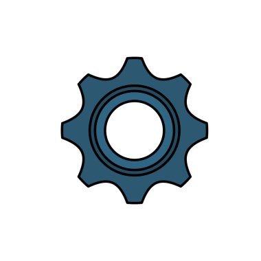 Isolated gear part design