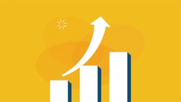 Statistika bary s šipkou nahoru