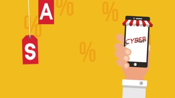 Cyber-Montagsanimation mit Smartphone