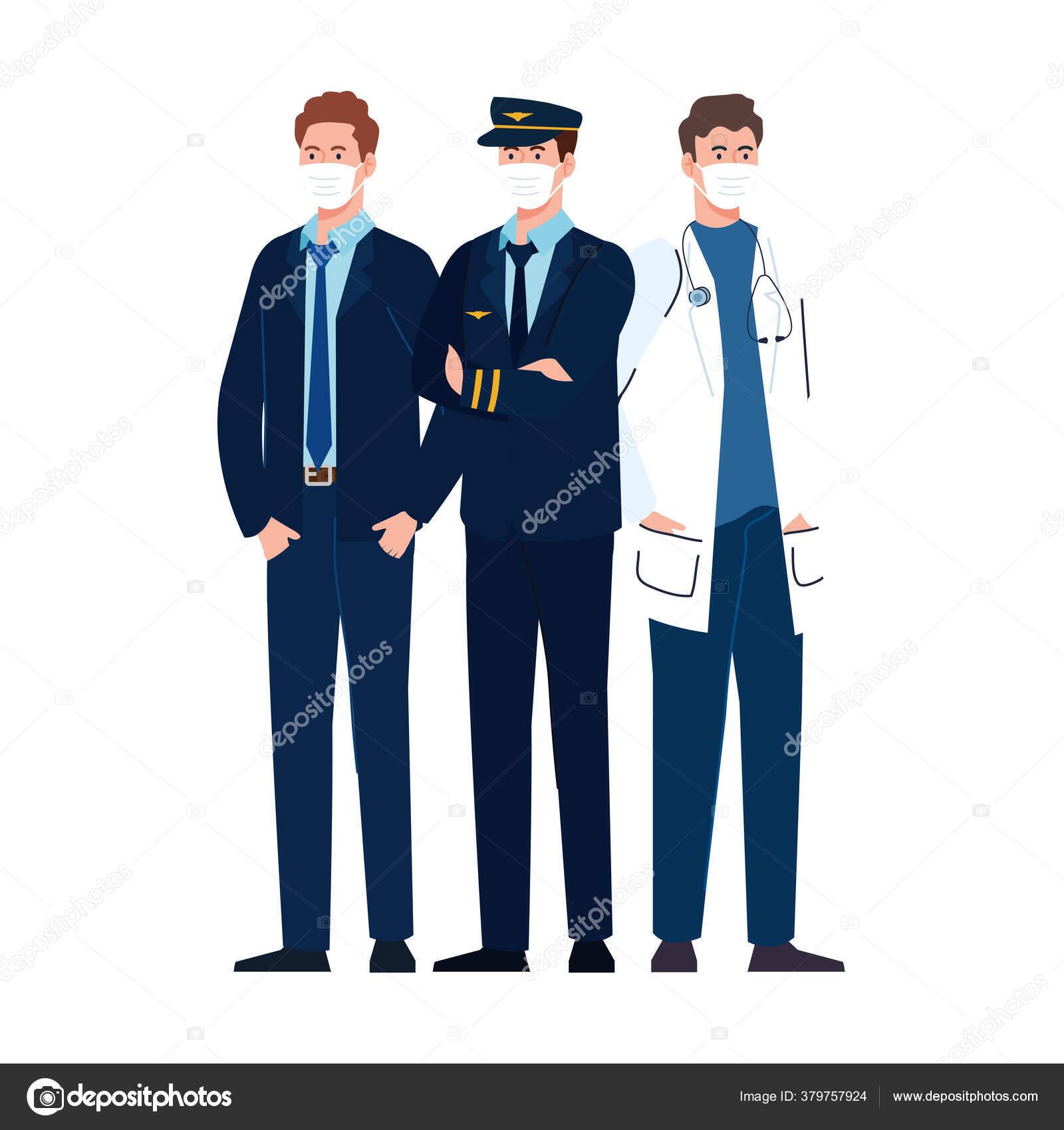 картинки докторов и пилотов